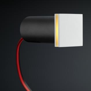 Cree LED trapverlichting Hernani | wit | vierkant | warmwit | 1 watt L2247