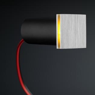Cree LED trapverlichting Hernani | vierkant | warmwit | 1 watt L2049