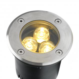 Cree LED grondspot | warmwit | 3 watt | rond L1040