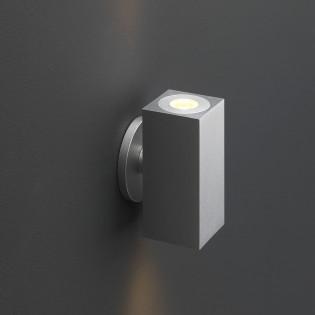 Cree LED wandlamp Lamego   warmwit   vierkant   2 x 1,5 watt   up & down  L2198