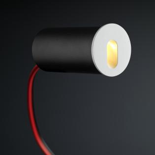 Cree LED trapverlichting Jaca | wit | rond | warmwit | 1 watt L2248