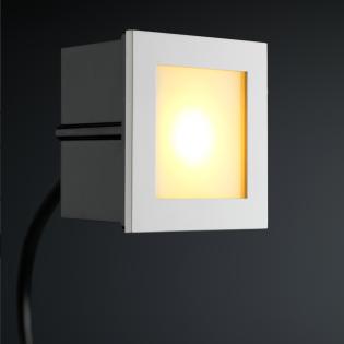 Cree LED trapverlichting Bilbao | vierkant | warmwit | 1 watt LT4150