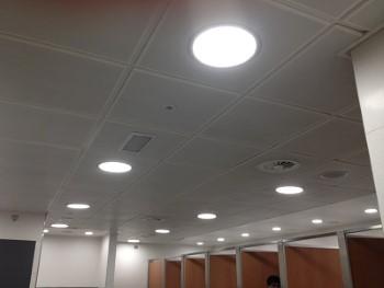 LED panelen systeemplafond