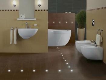 LED spots badkamer; heerlijk tot rust komen!