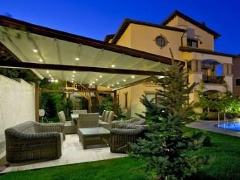 LED verlichting veranda; sfeervol tuin verlichting!